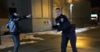 Policía creyó que se enfrentaría a brutal pelea callejera pero terminó bailando breakdance con sus mejores pasos
