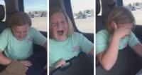 """""""No puedo respirar"""": La reacción de una niña al recibir un regalo que nadie a su edad debería tener"""