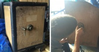 Llevaron esta caja fuerte al cerrajero y cuando la abrieron no podían creer lo que había dentro