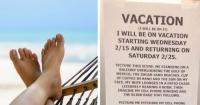 """La """"intimidatoria"""" carta que le dejó este jefe a sus empleados por si alguien interrumpía sus vacaciones"""