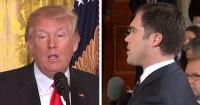 El periodista que dejó en vergüenza a Donald Trump frente a todos con una sola pregunta