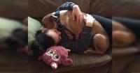 Salvó a un pitbull de ser sacrificado en un refugio y se llevó una gran sorpresa cuando lo llevó a casa