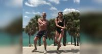 """El multimillonario Gianluca Vacchi y su novia sorprenden a sus seguidores bailando """"Despacito"""""""