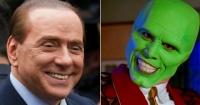 """Silvio Berlusconi estrenó su nuevo rostro y es tan perturbador que fue comparado con """"La Máscara"""""""