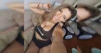 El sensual twerking de Geri Hoops en bikini que subió la temperatura en Instagram