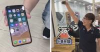Quisieron probar la resistencia del nuevo iPhone X y al parecer no fue una buena idea