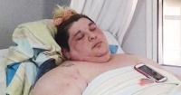 La chica que solo tiene 30 años, pesa casi 500 kilos y ruega por ayuda para bajar de peso