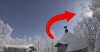 La impactante grabación de un meteorito cayendo que convirtió la noche en día