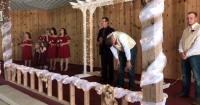 Novia deja llorando a su amado en el altar por un gesto que todos terminaron aplaudiendo