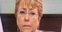 El desencajado rostro de Bachelet antes del llamado a Piñera y que los medios no mostraron
