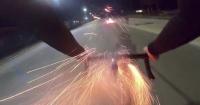 El video que circula en Internet que demuestra que este es un verdadero ciclista furioso
