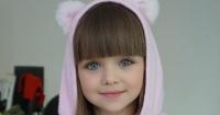 Ella es Anastasia, tiene 6 años y sus seguidores dicen que es la niña más linda del mundo