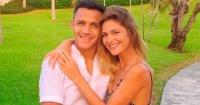 Alexis Sánchez desmintió supuesta infidelidad a Mayte Rodríguez en Inglaterra