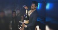 Se jactó de comprar una champaña de 25 millones de pesos y cuando la abrió todo fue una tragedia
