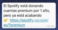 ¿Spotify premium gratis? Conoce de qué se trata esta promoción que circula por WhatsApp