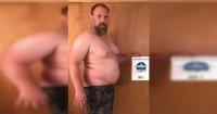 Pesaba 127 kilos, cambió su estilo de vida y ahora sus músculos son sensación en Instagram