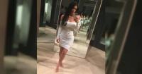 Kim Kardashian se fotografía vistiendo solo una tanga y causa furor en la web