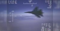 El escalofriante momento en que un avión ruso casi choca a un avión espía estadounidense