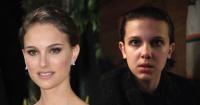 Natalie Portman imita a Millie Bobby Brown y se viste como personaje de Stranger Things