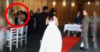 """La archiconocida """"broma de los gemidos"""" arruina la entrada de la novia a su boda en Brasil"""