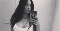 Kim Kardashian revela cuáles son sus medidas y luce orgullosa sus curvas