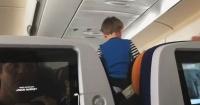 """Niño """"demonio"""" gritó durante 8 horas en un vuelo de Alemania a Estados Unidos y sus padres no hicieron nada"""