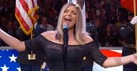 La polémica interpretación de Fergie, del himno de EE.UU, que fue destrozada en redes sociales