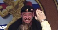 El impactante momento en que un pesista ruso levanta 426 kilos y le explota la nariz