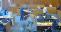 Mafioso fue acribillado en pleno juicio tras intentar asesinar a un testigo