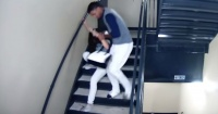 Filtran brutal golpiza de beisbolista venezolano a su novia en Estados Unidos