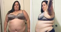 El radical cambio físico de la mujer que llegó a pesar 184 kilos alimentándose con comida chatarra