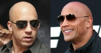 """""""No estuvimos en ninguna escena juntos"""". """"La Roca"""" reveló detalles sobre su pelea con Vin Diesel"""