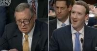 Las preguntas privadas con las que un senador dejó sin palabras y avergonzó a Zuckerberg