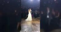 Estaban disfrutando de su primer baile de recién casados y todo terminó de la peor forma