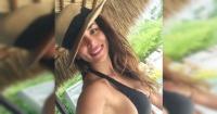 """""""Exquisita, hecha a mano"""": Jhendelyn Núñez derrite a sus fans con foto en traje de baño"""