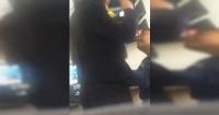 Alumna grabó el perturbador momento en que un profesor la trató besar y la tocó