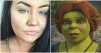 Joven se aplicó un bronceador de mala calidad y ahora luce igual que Fiona de Shrek