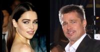 La vez que Brad Pitt ofreció 120 mil dólares por una cita con Emilia Clarke