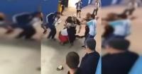 La cobarde agresión de hinchas argentinos a dos croatas en Rusia