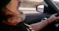 Filtran video del Negro Piñera manejando a 240 km/h