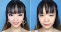 """Asiáticas """"esculpen"""" sus rostros con maquillaje para cambiar sus rasgos"""