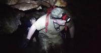 Revelan el primer video del rescate de los niños atrapados en la cueva de Tailandia