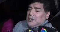 Necesita subtítulos: sorprenden a Maradona manejando en estado de embriaguez y apenas puede hablar