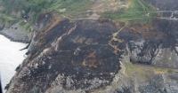 El incendio que dejó al descubierto un mensaje que estuvo oculto por más de 70 años