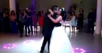 Novia escogió la canción de Dragon Ball par el vals de su boda…y así reaccionó el novio