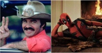 La sensual foto de juventud de Burt Reynolds que inspiró la famosa pose de Deadpool