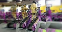 Bomberos en el gimnasio: el silencioso homenaje a los héroes que murieron en el atentado del 9/11