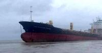 """El misterioso """"barco fantasma"""" que apareció sin tripulación en las costas de Myanmar"""