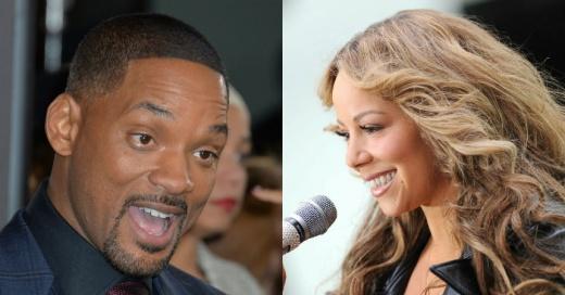 """""""Cuando sólo tenía dos vestidos"""": Mariah Carey desempolvó foto de hace 30 años del día en que conoció a Will Smith"""