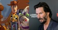 ¿Keanu Reeves en Toy Story 4?